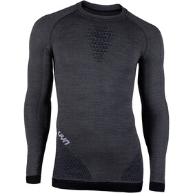 UYN Fusyon UW T-shirt à manches longues Homme, grey york/avio/white